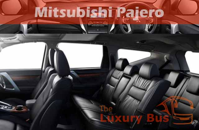 Sewa Mobil Mewah di Bandung Mitsubishi Pajero Sport Interior