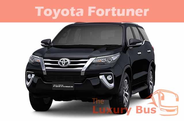 Sewa Mobil Mewah di Bandung Toyota Fortuner